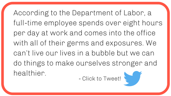 Workplace wellness stop office germs