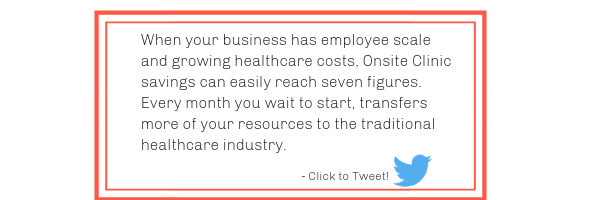 Onsite Clinic Implementation Cost Savings